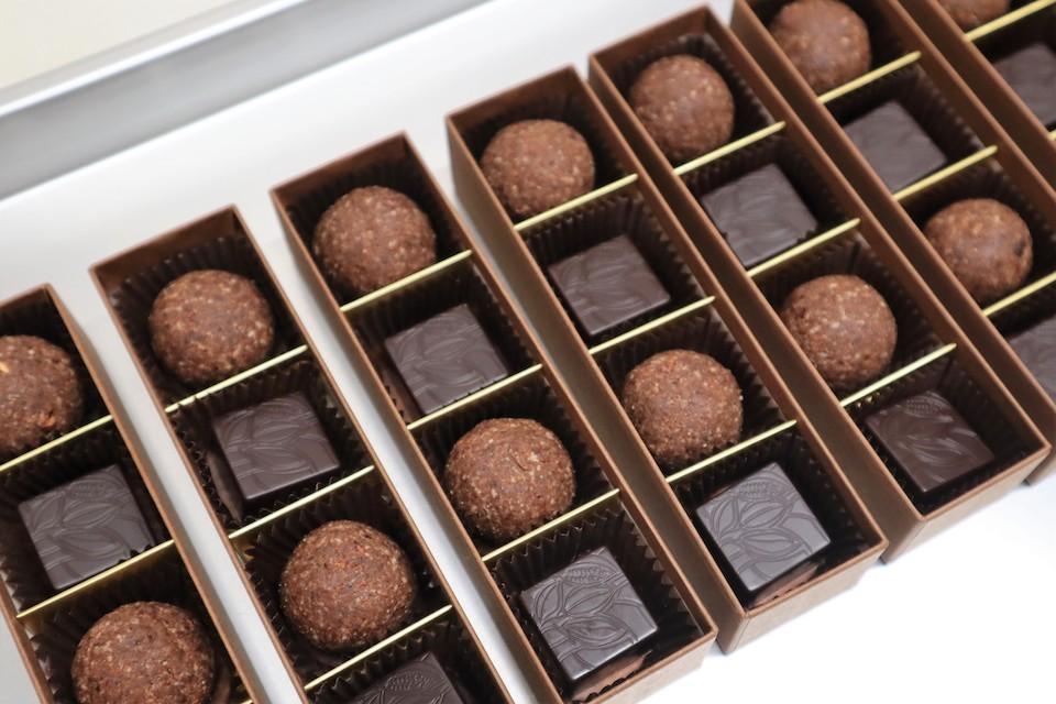 Rawヘム鉄チョコレート&プロテインボールカカオボックス